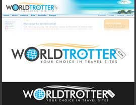#183 dla Logo Design for travel website Worldtrotter.com przez tilak1977