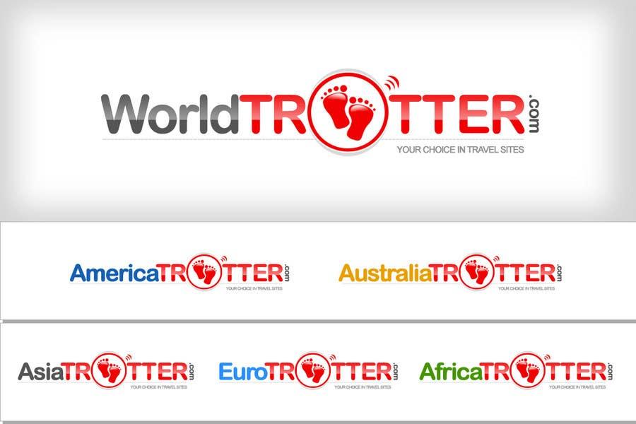 Конкурсная заявка №358 для Logo Design for travel website Worldtrotter.com