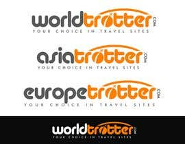 #193 dla Logo Design for travel website Worldtrotter.com przez tilak1977