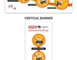 #69 for Design a banner 80X200 cm - Horizontal and Vertical by bdKingSquad