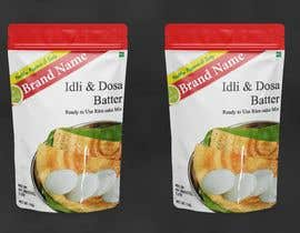 #13 for Dosa Idli batter packaging design ( Stand up pouch) by mvraju2017