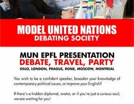 #47 for Design a flyer + banner for a Model United Nations by jamiuolagoke