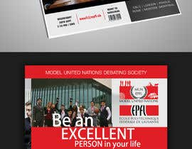 #55 for Design a flyer + banner for a Model United Nations by agkuriyodu2016