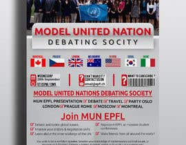 #44 for Design a flyer + banner for a Model United Nations by cfbutterfly