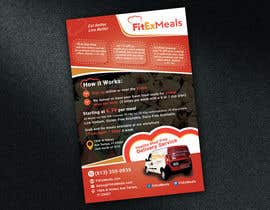 #46 for Design a Flyer for  a Meal Prep Company by biswajitgiri