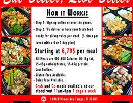 #17 for Design a Flyer for  a Meal Prep Company by javiermc66
