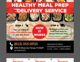 #28 for Design a Flyer for  a Meal Prep Company by enshano