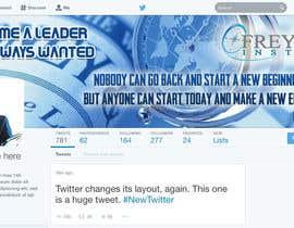 #6 untuk Design a Twitter background for us oleh Naumovski