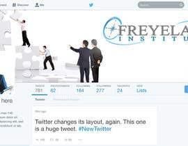 #20 untuk Design a Twitter background for us oleh Naumovski