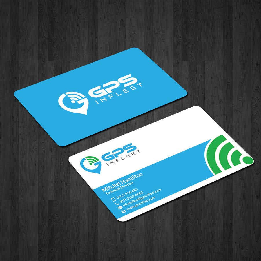 Entry #43 by papri802030 for GPS InFleet Business Cards | Freelancer