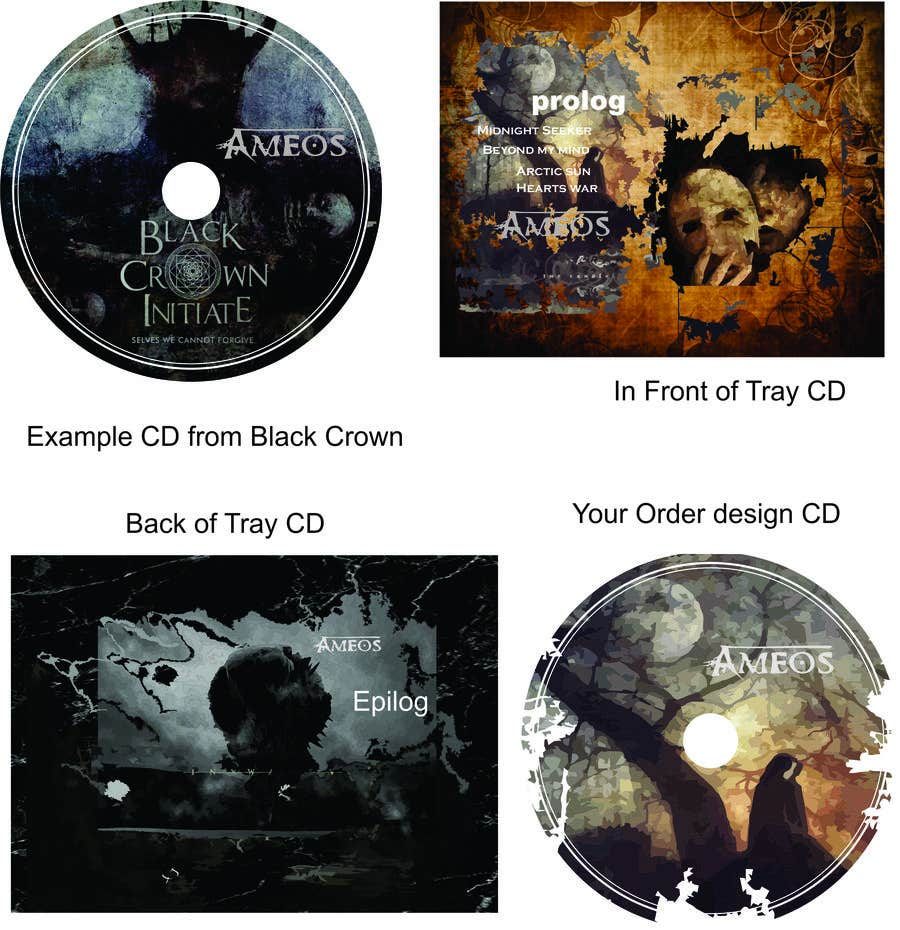 Entry #4 by pancasona23 for Design of a complete CD layout for a ...