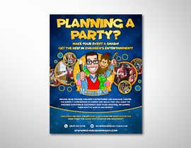 #87 for Stunning Children's Magician Advertisement Flyer Design by elgu