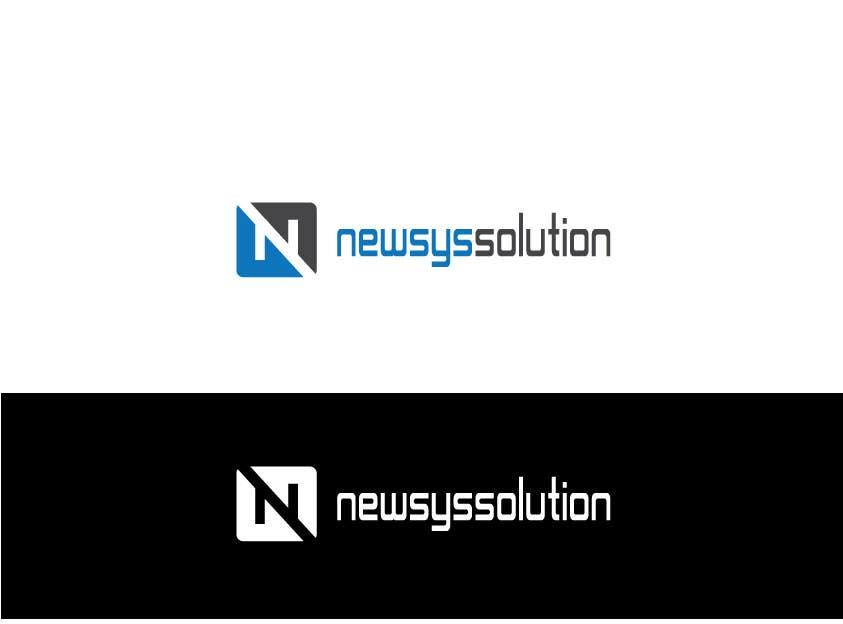 Penyertaan Peraduan #                                        32                                      untuk                                         Design a Logo for Newsys Solution