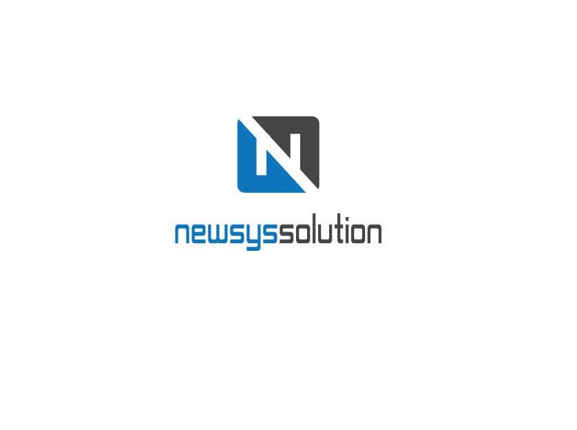 Penyertaan Peraduan #                                        33                                      untuk                                         Design a Logo for Newsys Solution