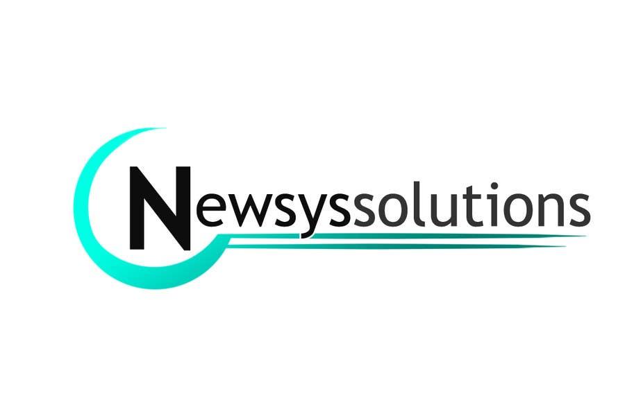 Penyertaan Peraduan #                                        5                                      untuk                                         Design a Logo for Newsys Solution