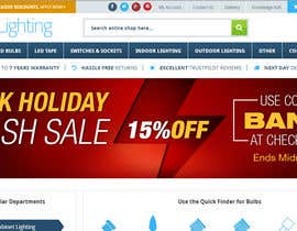#2 cho Design an Email Banner & 2 Matching Website Banners for Bank Holiday Sale bởi DenisLucian