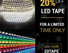 #35 for Design an LED Tape Banner for Email by CFking