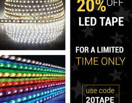 #36 for Design an LED Tape Banner for Email by CFking