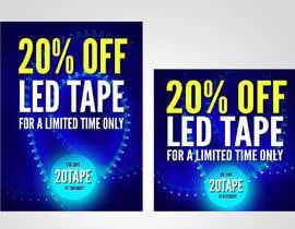 #59 for Design an LED Tape Banner for Email by dreamdesigner123