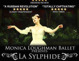#31 for Graphic Design for Ballet company for a ballet called La Sylphide by McFOX