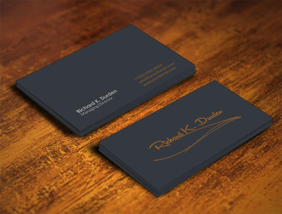 Contest Entry 36 For Design Professional Personal Business Cards