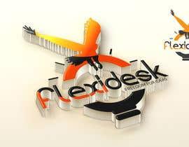 #142 para Design a Logo for Flexidesk Co-Working Space por vinayvijayan