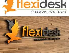 LucianCreative tarafından Design a Logo for Flexidesk Co-Working Space için no 117