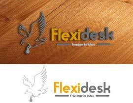 #101 para Design a Logo for Flexidesk Co-Working Space por maxrafat