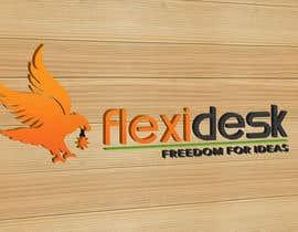 rajnandanpatel tarafından Design a Logo for Flexidesk Co-Working Space için no 123