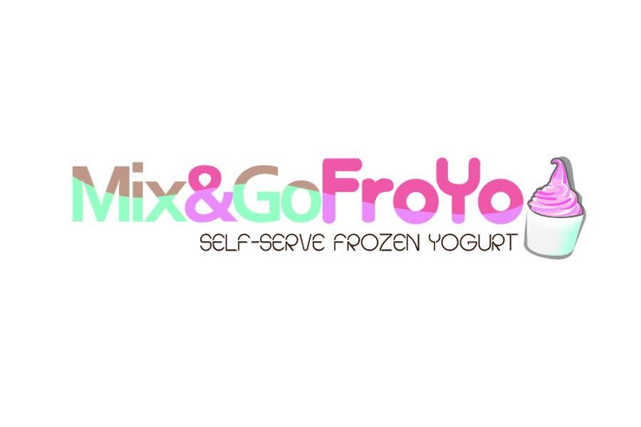 Natečajni vnos #                                        87                                      za                                         Logo Design for Mix&Go FroYo