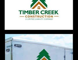 #61 untuk Logo Design for Timber Creek Construction oleh BrandCreativ3
