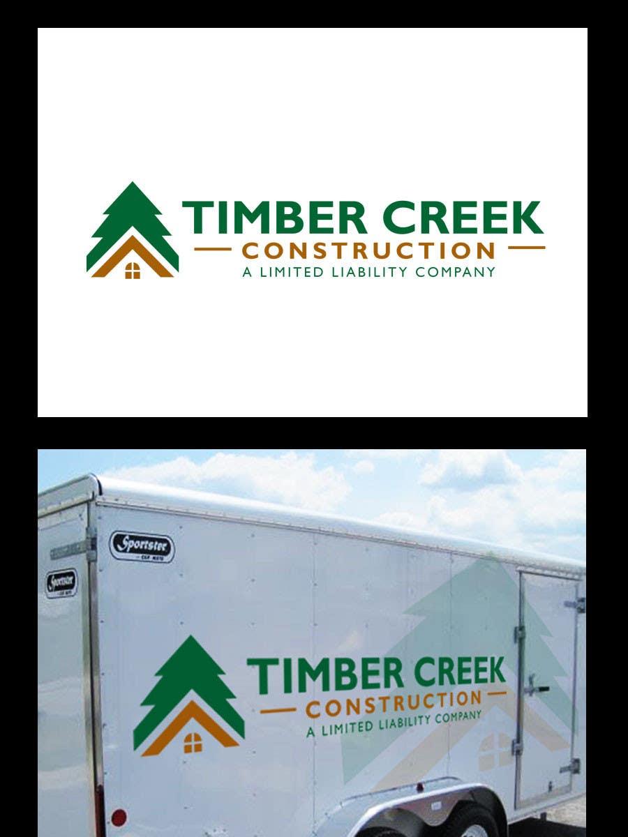 #60 for Logo Design for Timber Creek Construction by BrandCreativ3