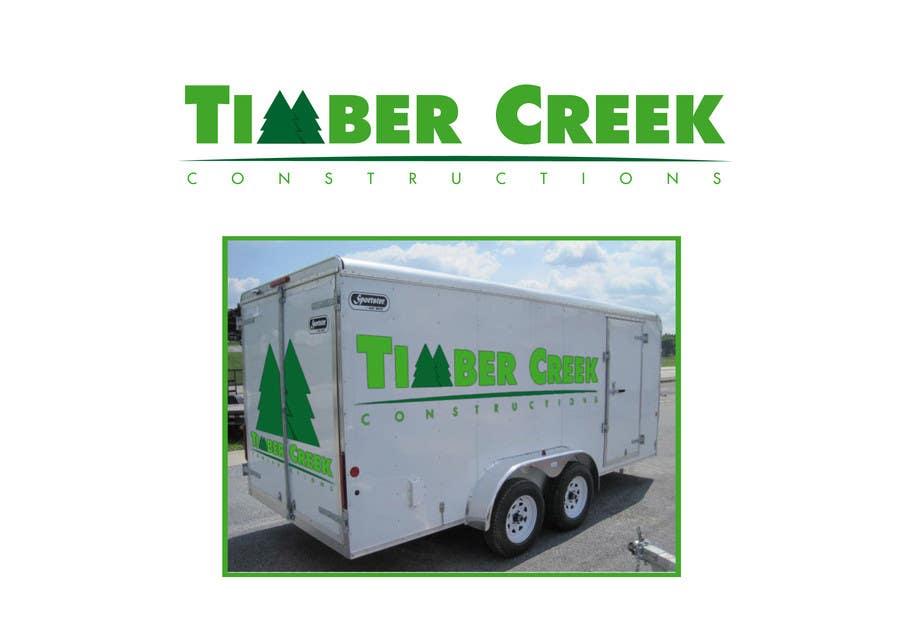 Konkurrenceindlæg #                                        142                                      for                                         Logo Design for Timber Creek Construction