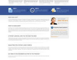 nº 53 pour Website Design for Payday Loans Website par dreamsweb