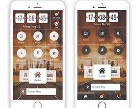 #23 for Design a home screen for an app by irhamagung