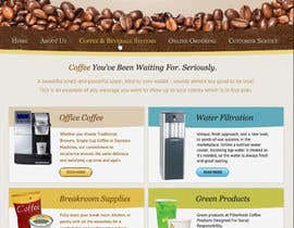 #62 pentru Website Design for Coffee Solutions Group de către MishAMan