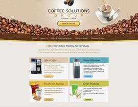 #36 pentru Website Design for Coffee Solutions Group de către MishAMan