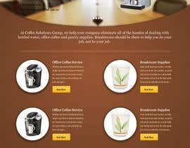 #77 pentru Website Design for Coffee Solutions Group de către Simplesphere