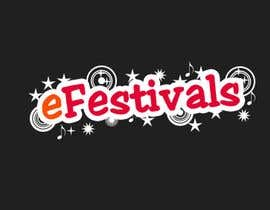 nº 198 pour Logo Design for eFestivals par InnerShadow