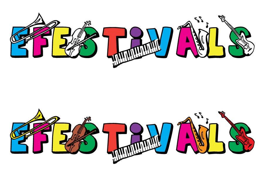 Inscrição nº 386 do Concurso para Logo Design for eFestivals