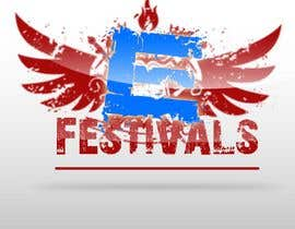 #345 para Logo Design for eFestivals por kzexo