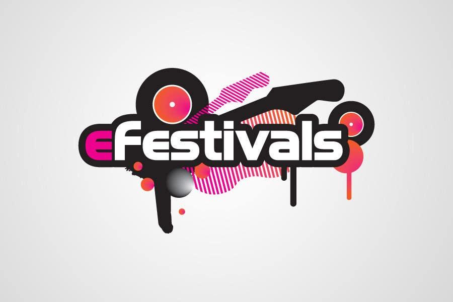 Inscrição nº 409 do Concurso para Logo Design for eFestivals