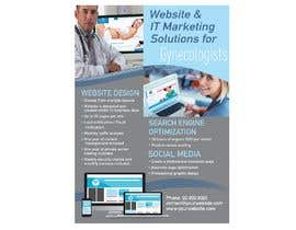nº 6 pour Design a Brochure for Medical Marketing Services par sarahwinsor