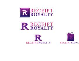 #153 pentru Logo Design for Receipt Royalty Mobile Application de către udaya757