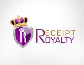 #169 pentru Logo Design for Receipt Royalty Mobile Application de către KreativeAgency