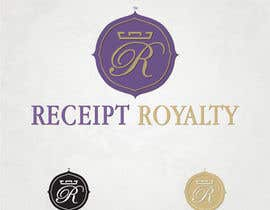 #195 para Logo Design for Receipt Royalty Mobile Application por simoneferranti