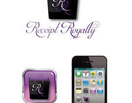 #163 pentru Logo Design for Receipt Royalty Mobile Application de către Fran2811