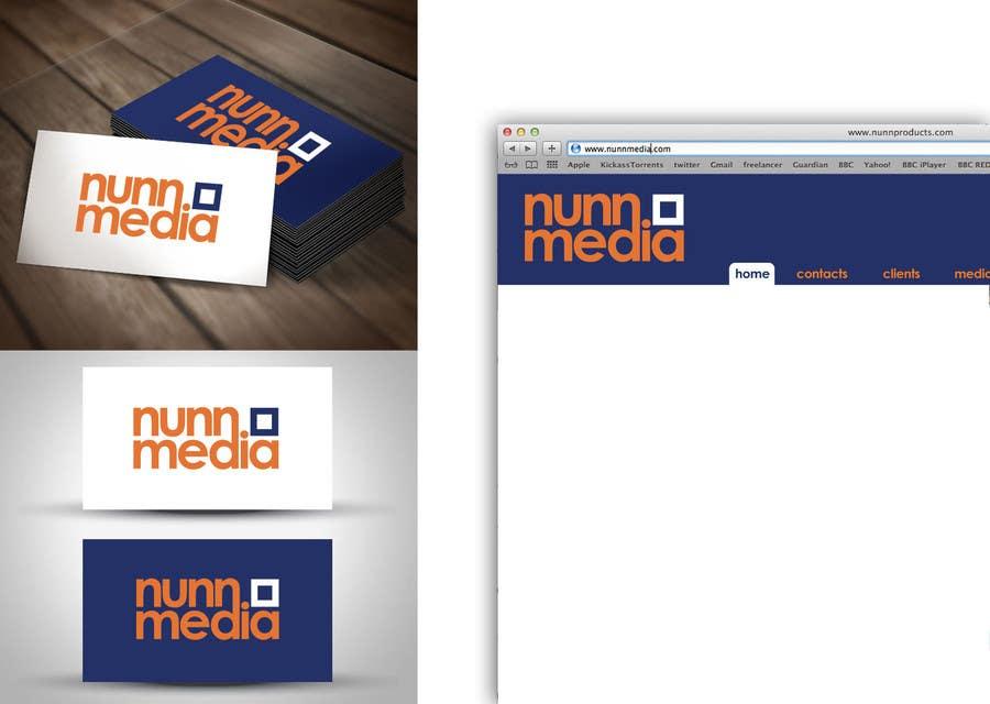 Penyertaan Peraduan #90 untuk Logo Design for Nunn Media