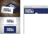 Logo Design for Nunn Media için Graphic Design91 No.lu Yarışma Girdisi