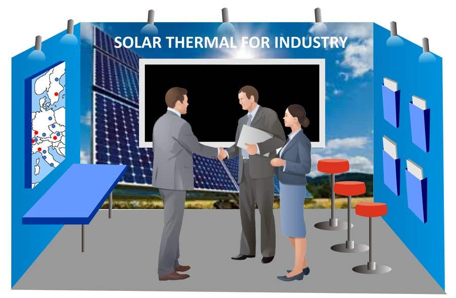 Entry #26 by rabin610 for Solar energy exhibition stand design